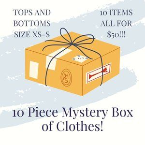 10 items for $50! Box of Women's Clothing